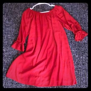 LOFT Off the Shoulder Dress